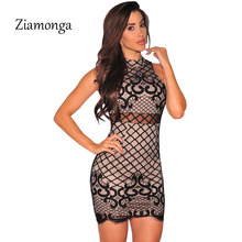 Ziamonga Robe Dentelle Autumn Vintage Sexy Party Vestidos Black Lace Up  Bodycon Dress 9344fcbdfd77