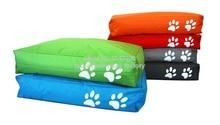two paw printed bean bag dog beds, extra large pet sleeping cushion , waterproof comfort pet bedding
