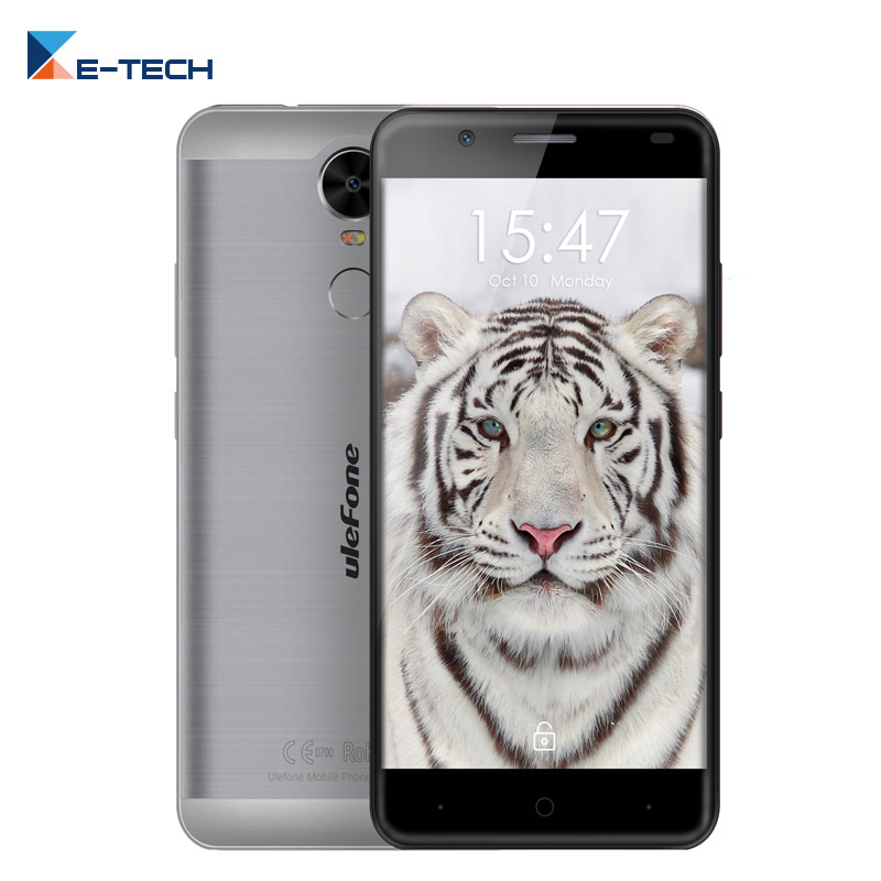 Цена за Ulefone Тигр MT6737 Quad core Смартфон 5.5 Дюймов Экран Мобильного Телефона 2 ГБ RAM 16 ГБ ROM Отпечатков Пальцев OTG 4200 мАч Сотовый Телефон
