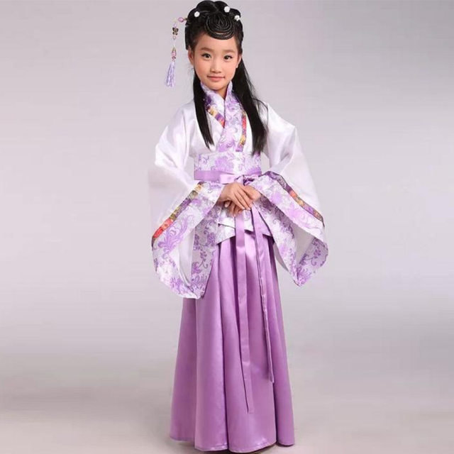 Girl ancient Chinese traditional national costume Hanfu red dress princess children hanfu dresses cosplay clothing girls kids  sc 1 st  Aliexpress & Online Shop Girl ancient Chinese traditional national costume Hanfu ...