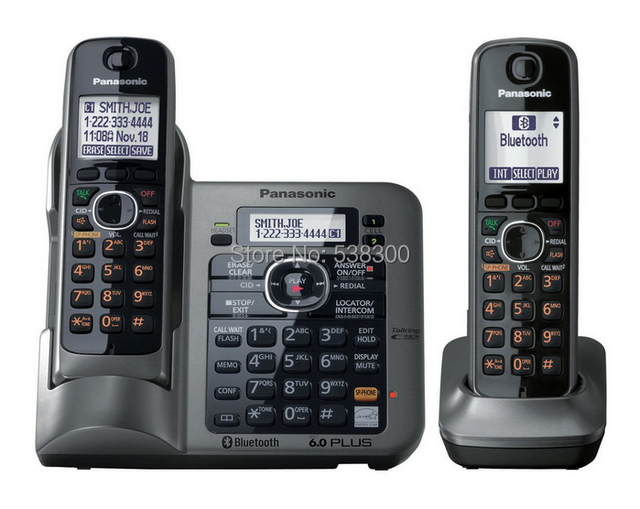 New Arrival Kx Tg7641 M Dect 60 Link To Cell Via Bluetooth Cordless