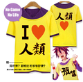 New No Game No Life T-shirt Sora Cosplay T shirt Casual Women Men Women Cotton Costume Anime Tops Tees