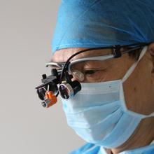 Tao's 2.5x Флип-up Galilean стиль увеличений стоматологические лупы-бинокуляр хирургическая медицинская стоматология рамка 420 мм