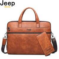 Jeep buluo для мужчин's портфели сумки для 14