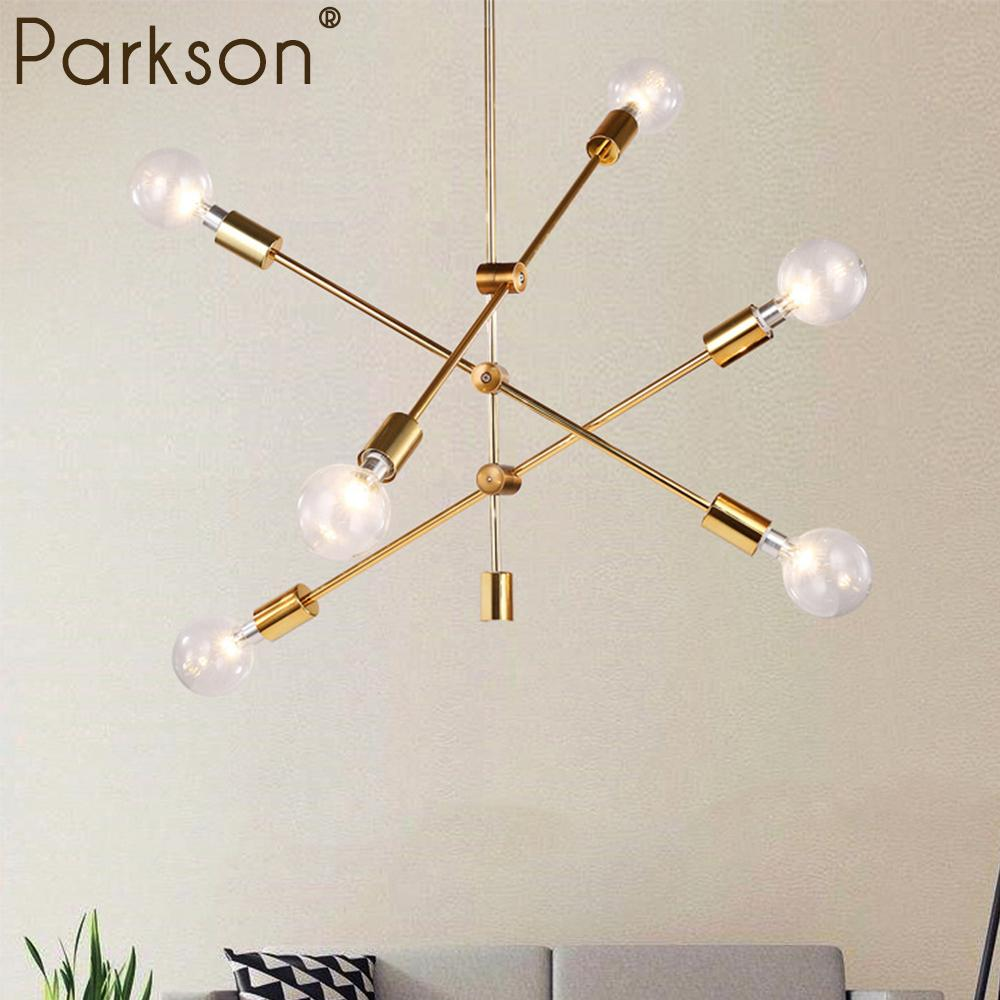 Nordic Modern Pendant Lights Hanging Light Lamp E27 Living Room Pendant Lamp Touw Lamparas De Techo Colgante Moderna LED Lamp