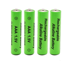 GTF100% 4pcs New  AAA Battery 2100mah 1.5V Alkaline rechargeable battery for Remote Control Toy light Batery