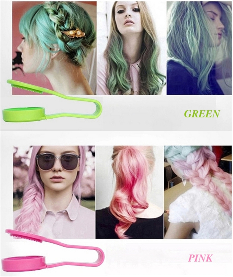 Dexe Temporary Hair Color Chalk Powder Beauty Gaga Halloween Party Makeup Disposable DIY Super Hair Dye Colorful Styling Kit 12