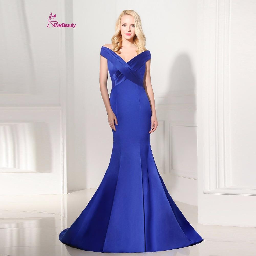 Online Get Cheap Plus Size Royal Blue Bridesmaid Dresses ...