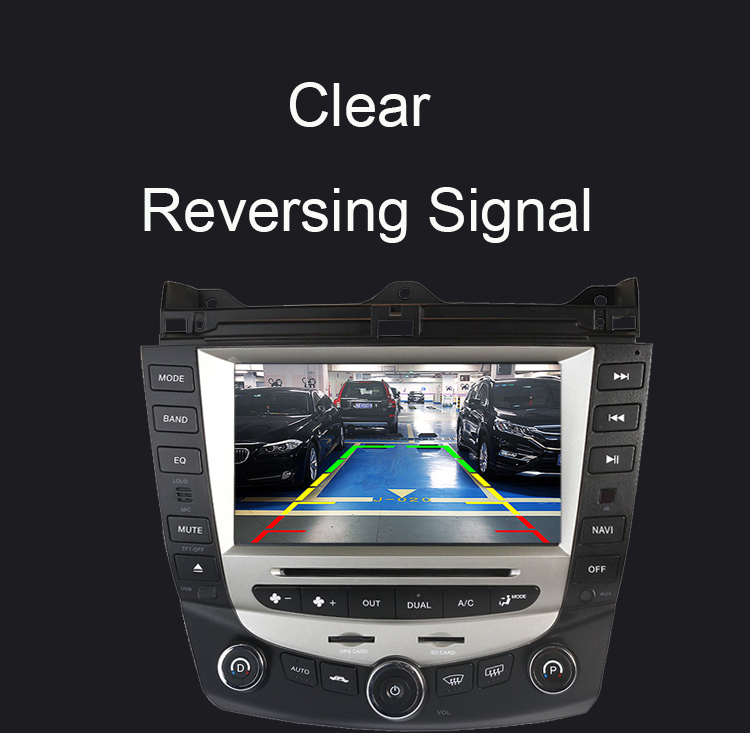 Discount Car Radio Multimedia Android 8.0 for Honda Accord 7 2003-2007 car dvd audio stereo player gps Navigation wifi RDS 2din 8
