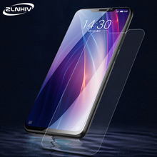 ZLNHIV 9H pour meizu x8 verre protecteur pour meizu pro 6 plus pro 7 plus x8 téléphone film protecteur décran en verre trempé smartphone