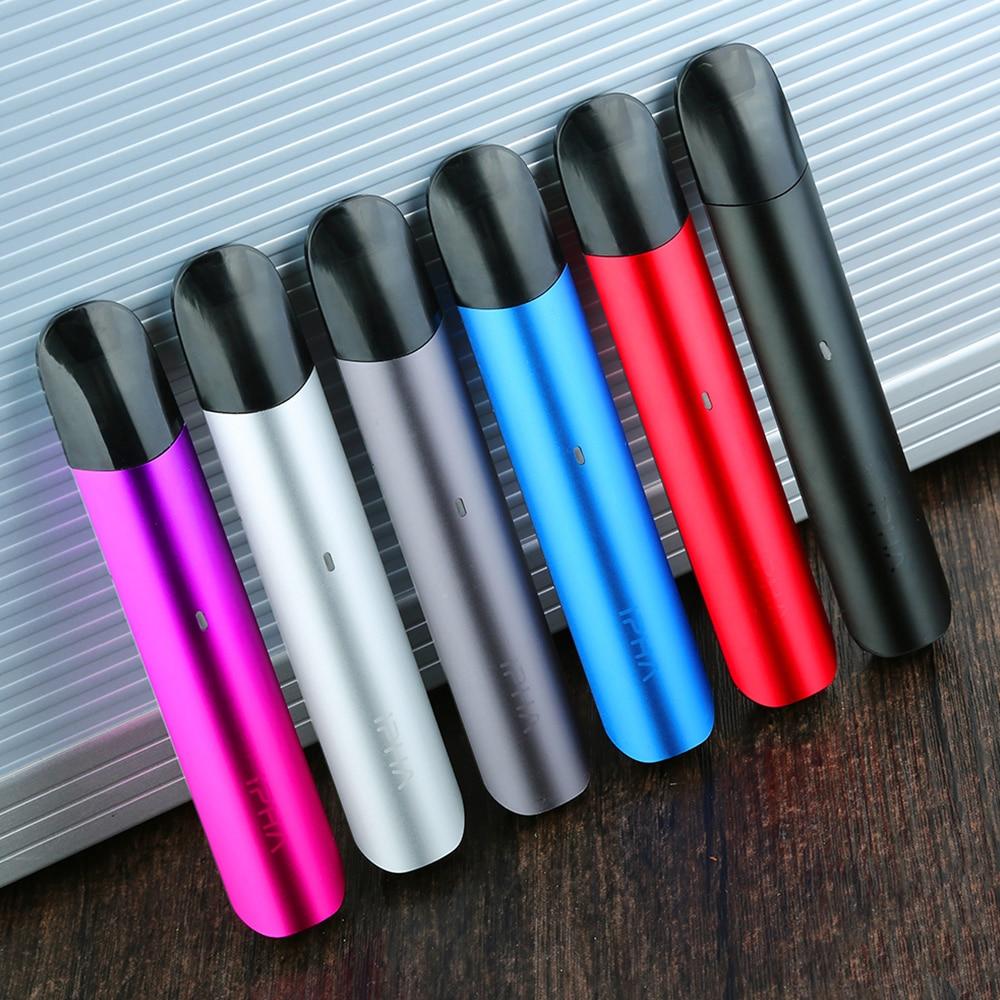Heavengifts IPHA Zing Pod System Vape Kit 350mAh Battery & 2ml Pod Anti Dry Hit Technology Ecig Vape Pod Kit VS Minifit/ Vinci
