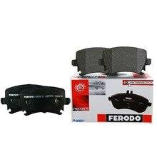 4pieces/set Ferodo Rear Car Brake Pads For KIA Forte Sportage Rio Hyundai ix35 2.0 i30 1.6 Accent  FDB1956-D