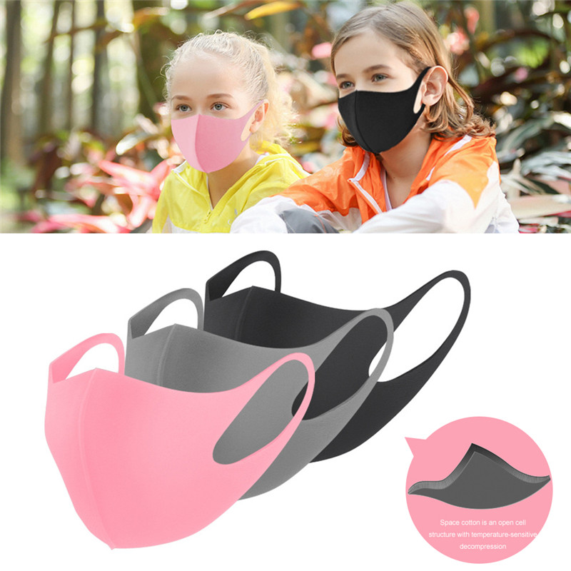Respirator Face-Mask Mouth-Cover Medical Anti-Dust Washable Adult Children title=