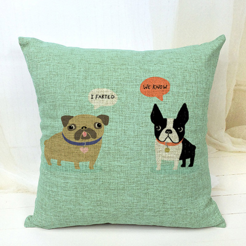 Aliexpress Buy Free Shippingboston Terrier Decorative Throw Impressive Boston Terrier Decorative Pillow
