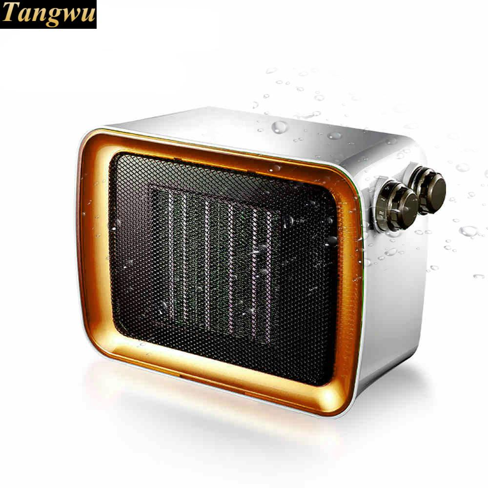 Warm air blower heater waterproof bathroom home office electric heaters miniWarm air blower heater waterproof bathroom home office electric heaters mini