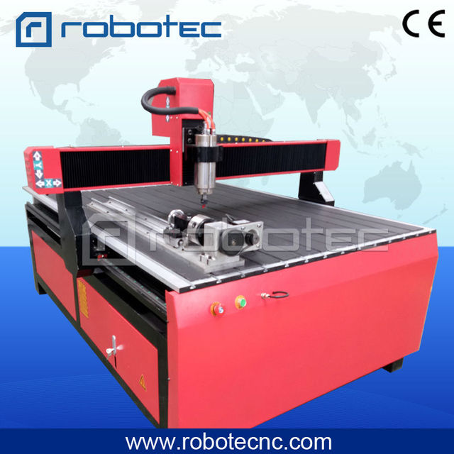 RTG 1218 High Efficiency China Furniture Making Machine 4 Axis Wood CNC  Router