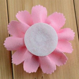 Image 5 - 200pcs/lot 17 Color U Pick 3 Inch Handmade Ballerina Chiffon Burlap Flowers Garment Hair Accessories Wholesale Supply FH59