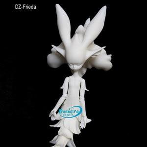 Image 2 - OUENEIFS DollZone DZ פרידה ELF 35cm שרף דמויות גוף דגם בנות בני עיניים באיכות גבוהה צעצועי חנות