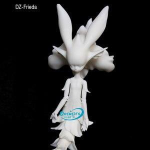 Image 2 - OUENEIFS DollZone DZ Frieda ELF 35cm reçine rakamlar vücut modeli kız erkek gözler yüksek kaliteli oyuncak dükkanı