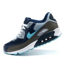 hot sale online ff74b c977a Nuevo estilo caliente venta NIKE AIR MAX 90 hombres caliente de los hombres  transpirables zapatos NIKE