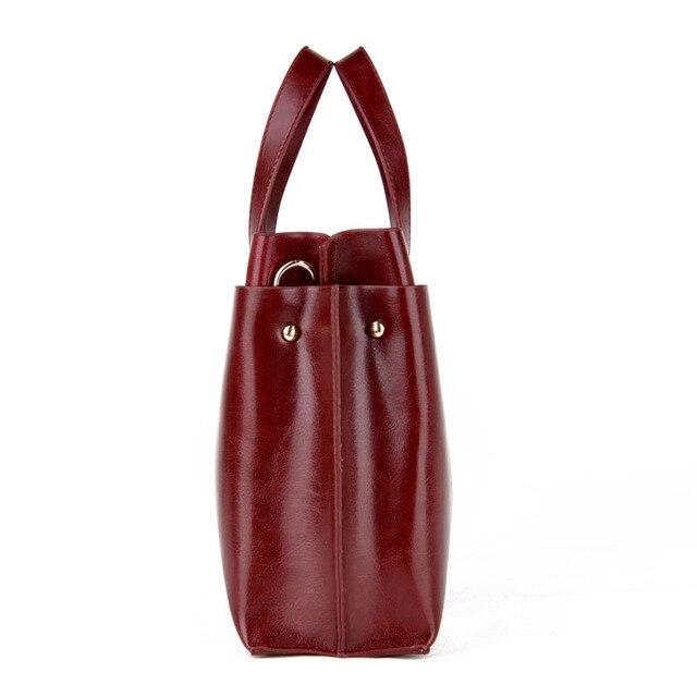 Ladies Hand Bags Women Fashion Handbags - PU Leather Shoulder Bag Women Office Bags 2