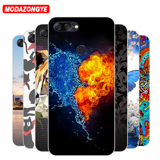 best service 8395b a12ff US $3.24 |For Asus Zenfone Max Plus M1 Case Silicone TPU Soft Back Cover  Phone Case For Asus Zenfone Max Plus M1 ZB570TL X018D Case 5.7-in Fitted ...
