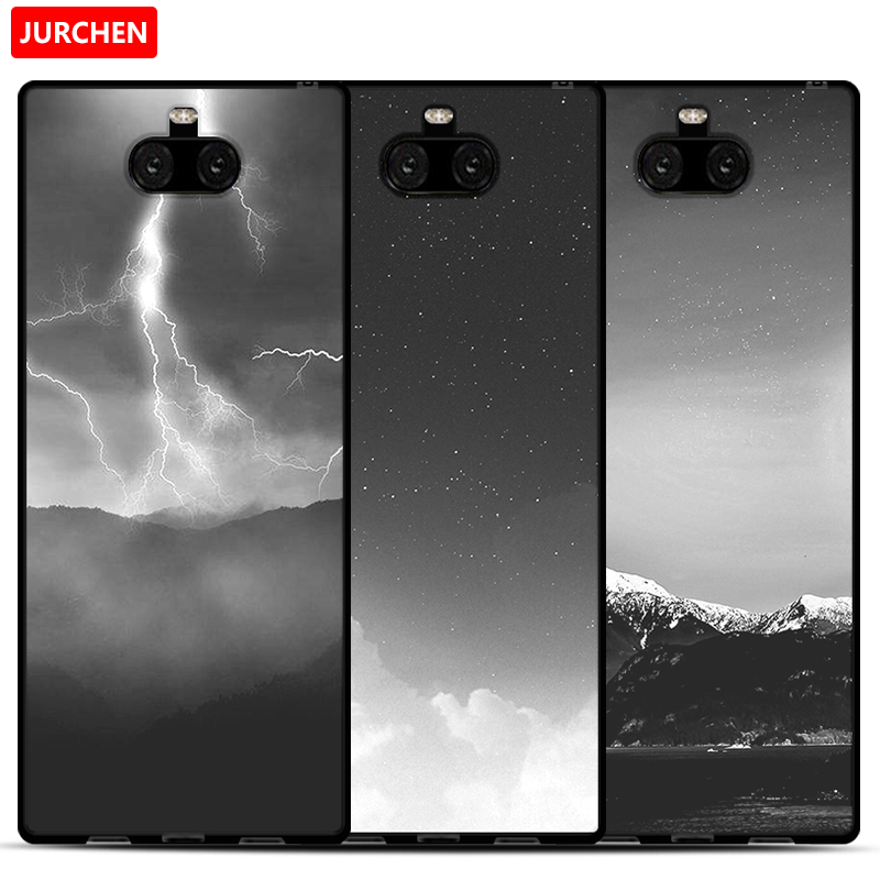 Image 5 - JURCHEN Phone Case For Sony Xperia 10 Cases For Sony Xperia 10 Plus Silicone Cartoon Soft Cover For Sony Xperia10 10Plus Case-in Fitted Cases from Cellphones & Telecommunications