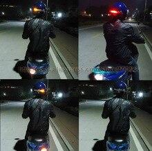 Новый Беспроводной Мотоциклетный Шлем СВЕТОДИОДНЫЙ Тормозной Сигнал Поворота Свет/LED Стоп-сигнал и 2 Компл./лот Бесплатная Доставка