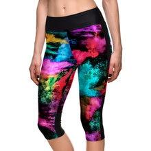 d9ab63ff0f632 Women Capris 3D Galaxy Leggings High Waist Space Star Wars Printed Leggins  Lady's Fitness Workout Wear