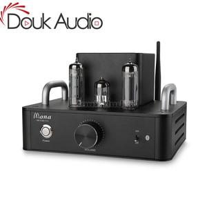 Image 1 - Douk Audio Hi Fi 6P14 (EL84) tubo a vuoto Amplificatore Bluetooth Classe Single Ended UN Amplificatore Stereo di Potenza 4 W * 2