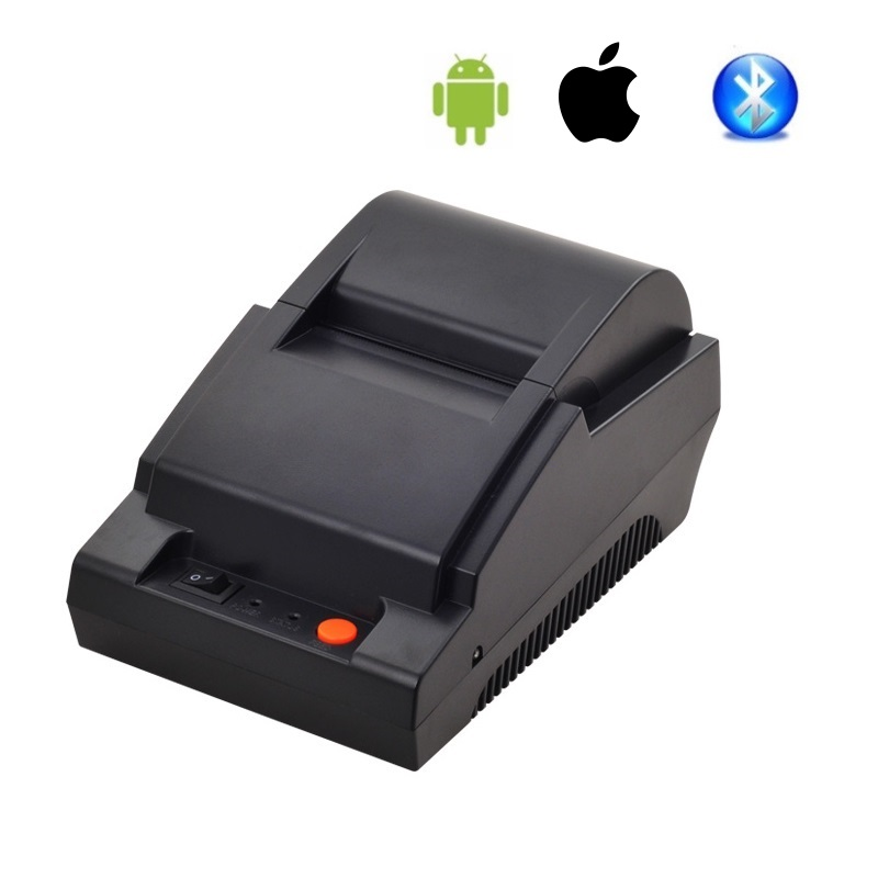 Bluetooth Printer Android Wireless 58mm Thermal Small Ticket Printer Mini Restaurant Hotel Receipt Printer цена