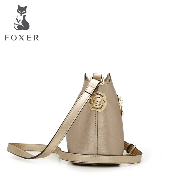 Foxer 2016 new simple fashion Bag Satchel Bag Chinese style Small shoulder bag crossbody