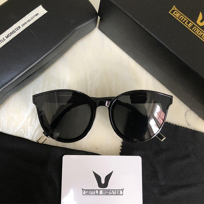 88f95de86328 2019 Brand Women Gentle Monster Sunglasses Korean Design Lady Vintage Cat  Eye Sun glasses Retro Sunglass