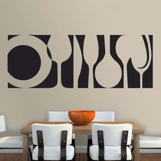 2016 home decoration kitchen wall stickers living room for Deco murale kitchen