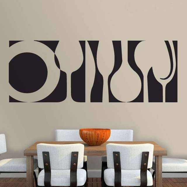 2016 Home Decoration Kitchen Wall Stickers Living Room Decor Decorative Decal Removable Murals Wallpaper Vinyl Bedroom