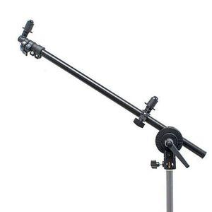Image 4 - Держатель для фотостудии PRO, кронштейн с поворотной головкой и отражателем, поддержка 24 66 дюймов