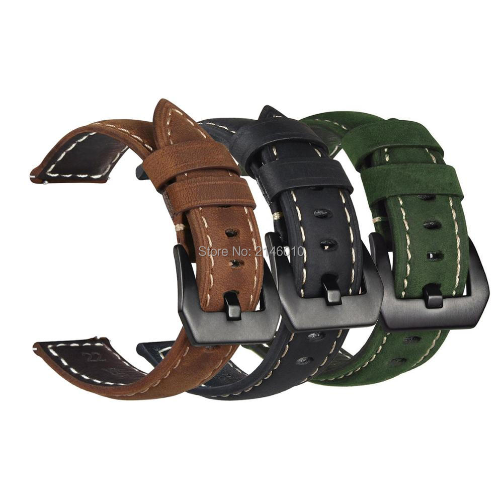 Premium Vintage Crazy Horse Genuine Leather Strap Replacement Bracelet Watch Band for Garmin Fenix 3 / Fenix 3 HR / Fenix 5X Premium Vintage Crazy Horse Genuine Leather Strap Replacement Bracelet Watch Band for Garmin Fenix 3 / Fenix 3 HR / Fenix 5X