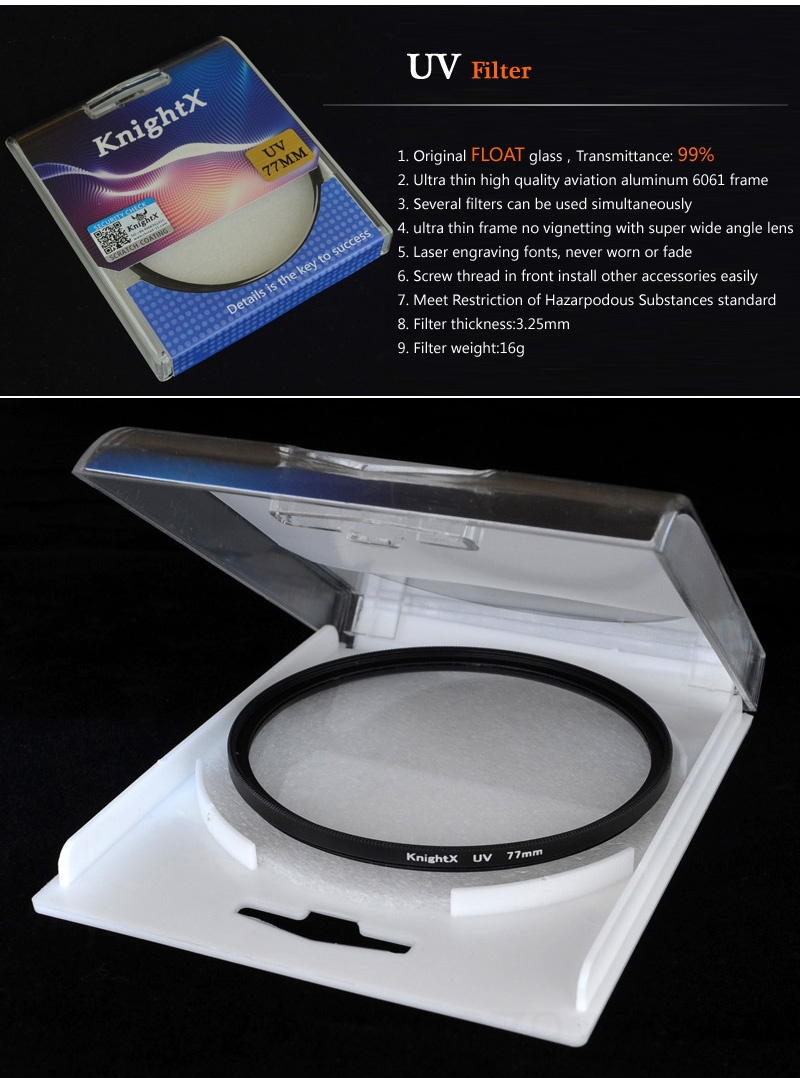 37mm UV Protection Filter with Micro Fiber Cleaning Cloth 38 Layers Ultra Slim Nano Coating UV Ultra Violet Filter for Camera Lens with 37mm Filter Thread