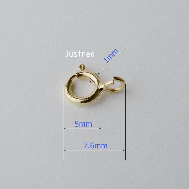 18k黄金弹簧扣 (5)