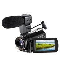 ORDRO AC3 видеокамеры профессиональная WiFi цифровая видеокамера 4 K 1080 P инфракрасная ночная съемка 30X зум видеокамера