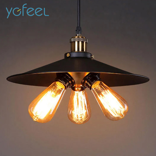 [YGFEEL] Village Retro Pendant Lights American Country Style Restaurant Bar Coffee Shop Lighting 3PCS*E27 Holder AC110V/220V [ygfeel] village retro pendant lights american country style restaurant bar coffee shop lighting 3pcs e27 holder ac110v 220v