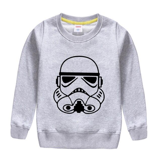 4ae871311181 € 8.92  Aliexpress.com: Comprar 2018 nueva marca star wars patrón primavera  Otoño Invierno sudadera pullover suave diseño para niños niñas ...