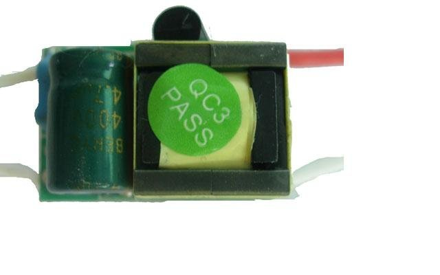 led constant current driver, AC85V~265V input;680mA/1*3W output;used for driving high power led lights;P/N:LF-G145B