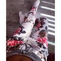 2016 Mulheres Calças Com Cordão Calças de Camuflagem De Impressão Mulheres Sweatpants Verão a Moda das calças Harém Pantalon femme
