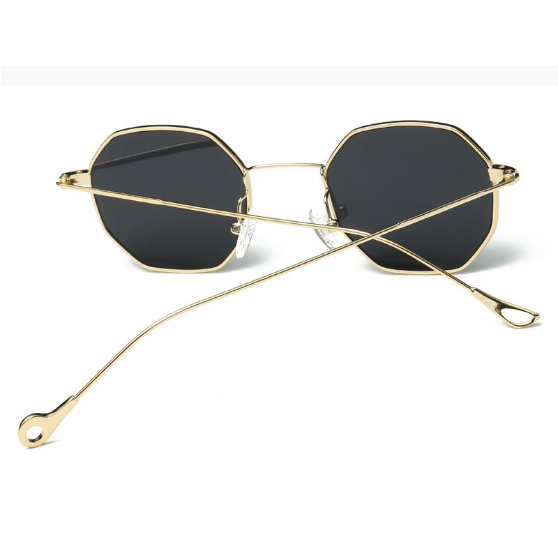 Owl City Hexagon Sunglasses Wanita Kacamata Matahari Kecil Merek - Aksesori pakaian - Foto 2