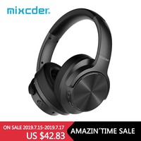 Mixcder E9 Active Noise Cancelling Wireless Bluetooth Headphones 30 hours Playtime Bluetooth Headset with Super HiFi Deep Bass