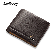 Baellerry Luxury Brand Men Wallets Short Style High Quality Card Holder Male Purse Zipper Large Capacity PU Leather Coin Pocket wallet men new brand baellerry leather multifunction wallets large capacity card holder cellphone handbag zipper coins purse bag