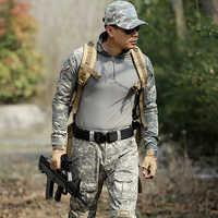 Ropa de caza militar para Hombre Ropa de camuflaje traje chaquetas + Pantalones uniformes de EE. UU. disfraz de combate Multicam Ghillie