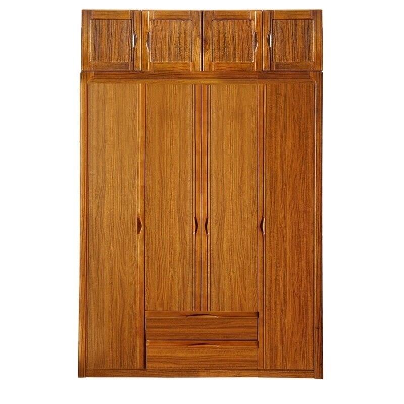 Madera Roupa Meuble Rangement Garderobe Meubel Armario Rangement Quarto Vintage en bois placard chambre meubles armoire