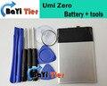 Umi Нулевой Батареи 100% 2700 мАч Замена Аккумулятор для Umi Zero Смартфон На Складе + Инструменты